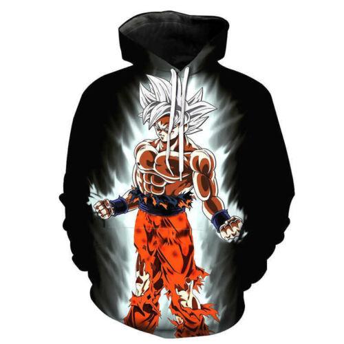 Dragon Ball Z Pullover Sweatshirts Son Goku Vegeta 3D Hoodies Outerwear Sweater