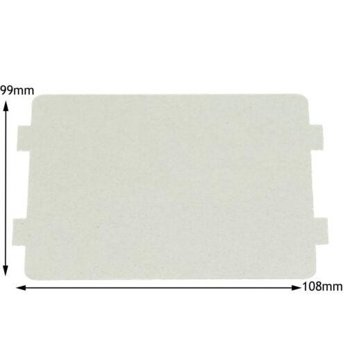 Matsui véritable micro-ondes guide d/'ondes Cover Board Panel Splash pièce 108 x 99 mm