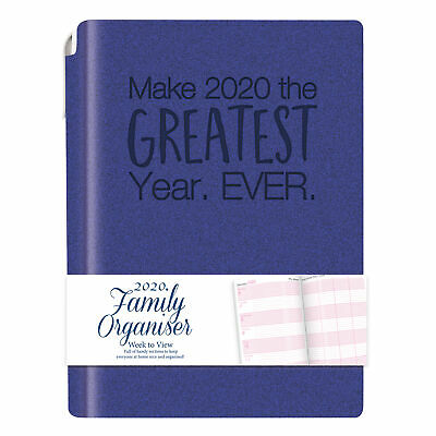 2020 Diary A5 Slim Pocket Week To View Day to Page Organiser  Address Book