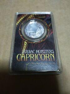 Silver Capricorn zodiac monsters 1/10 oz 999 Silver coin perak nubex