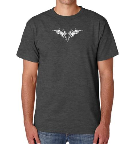 "NEW MEN/'S PRINTED /""WINGS TATOO/"" WILD TATOO IMAGE Cotton TEE Shirt Funny MMA Dope"