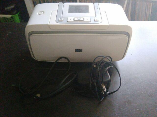 HP PhotoSmart A536 Digital Photo Inkjet Printer with Power Supply