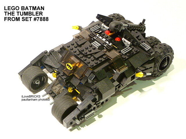LEGO BATMAN THE TUMBLER FROM SET 7888 NO MINIFIGURES 100% COMPLETE GUARANTEE