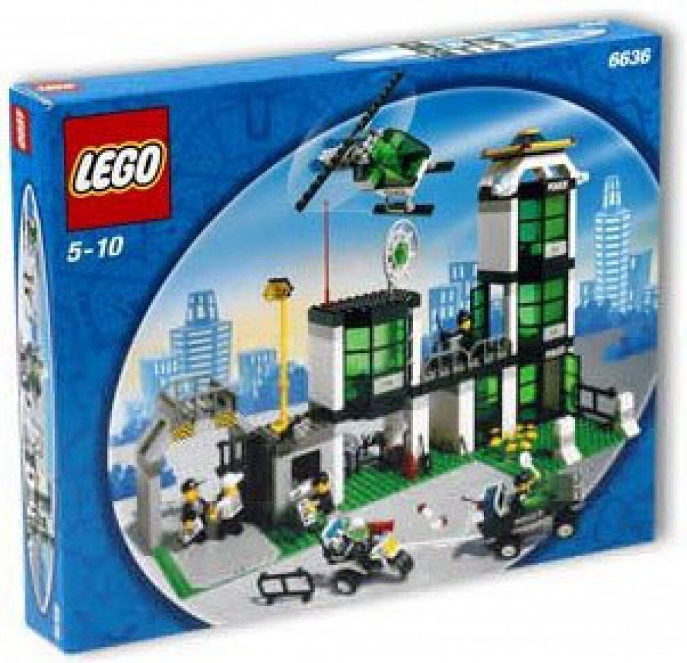 LEGO®    6636 Polizei Station NEU ungeöffnet RARITÄT 09e07c