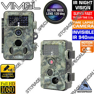 Trail-Camera-Home-Security-Cam-Hunting-Scout-Farm-Night-Vision-No-Spy-Hidden
