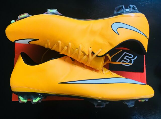 new concept 133f5 4b574 Nike Mercurial Vapor X Laser Orange FG Size UK 11.5