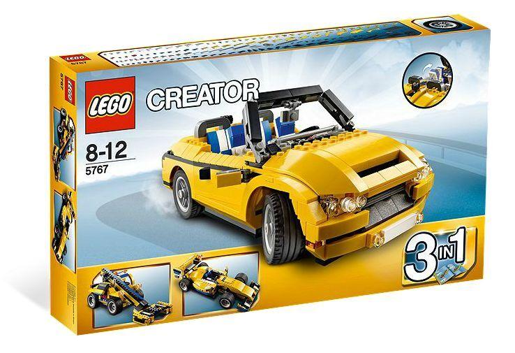 LEGO ®  Creator 5767 jaune cabriolet Nouveau neuf dans sa boîte _ Cool Cruiser nouveau En parfait état, dans sa boîte scellée Boîte d'origine jamais ouverte  rentable
