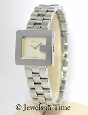 91ed4f16597 Gucci G 3600l Stainless Steel Quartz Ladies Watch for sale online