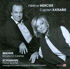 Brahms: Sonata for 2 pianos; Schumann: Piano Quintet (CD, Mar-2012, Piano 21)