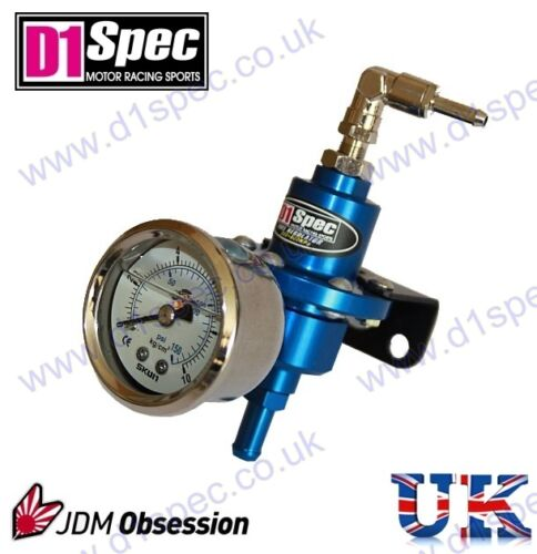 D1 Spec combustible regulador de presión Azul hasta 450bhp integra Rx7 Rx8 200sx Fto Evo 7