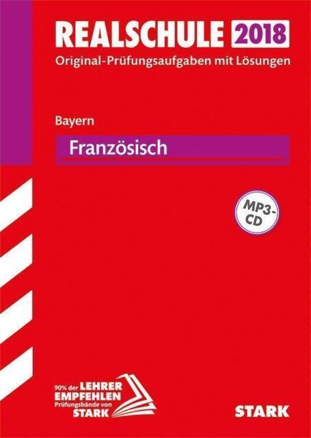 Abschlussprüfung Realschule Bayern - Französisch mit MP3-CD | Buch