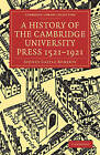 A History of the Cambridge University Press 1521-1921 by Sir Sydney Castle Roberts (Paperback, 2009)