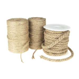 M01558 MOREZMORE Waxed Linen Cord NATURAL 4-ply Miniature Wicker Furniture