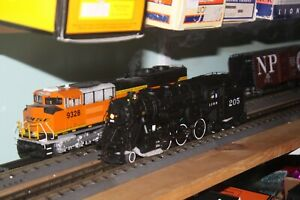 K-line O-31gauge K3435-0205TMCC 4-6-6T Tank Locomotive NIB 3 rail I.C.R.R. #205