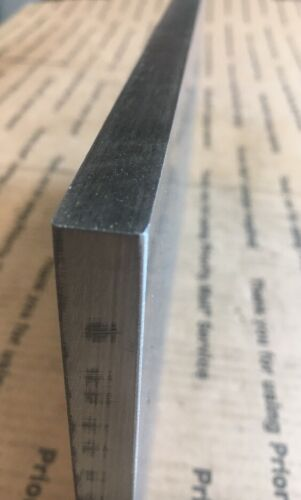 1//2 X 6 Flat Steel Bar 1018 Machining Cold Rolled 0.500 Smooth Finish 12/""