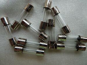 F5A 5Amp Bcp Pack Of 10 Pcs F5Al Fast-Blow Fuse 5A 250V Glass Fuses 5 X 20 Mm