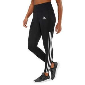 adidas Womens 7/8 3S 3 Stripe Active Tight Pants Aeroready High Waisted - NWT