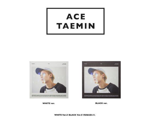 TAEMIN of SHINee ACE (1st Mini Album)CD  Randomver+Photobook+Photocard+GiftPhoto