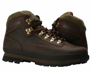 09d57e30c2c Details about Timberland Euro Hiker Oiled Leather Brown Men's Hiking Boots  95100
