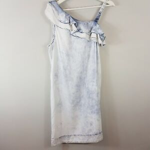 ANTHROPOLOGIE-Holding-Horses-Womens-Chambray-Dress-Size-XS-or-AU-8-US-4