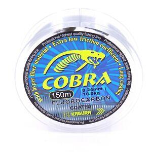 Cobra-Angelschnur-FLUOROCARBON-COATED-Polymere-Monofile-Schnur-Angeln