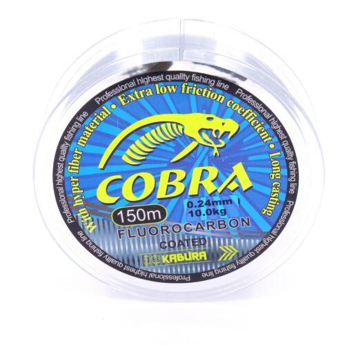 Cobra Angelschnur FLUOROCARBON COATED Polymere Monofile Schnur Angeln