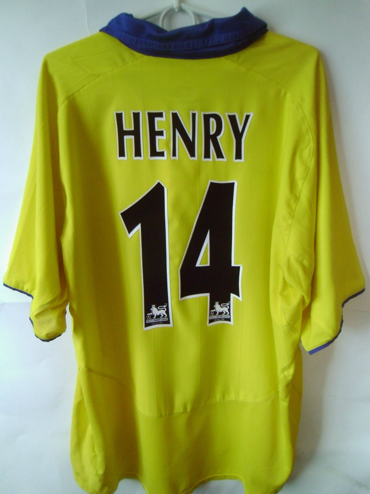 EXCELLENT    HENRY     Arsenal  2003-05 Arsenal  Away Shirt Jersey Trikot XL 4b79e1