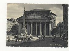 Roma Il Pantheon Postcard Italy 560a