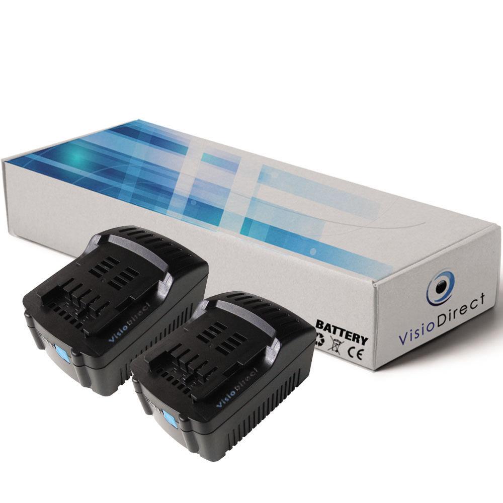 Lot de 2 batteries 18V 3000mAh pour Metabo BHA 18 LT - Société Française -