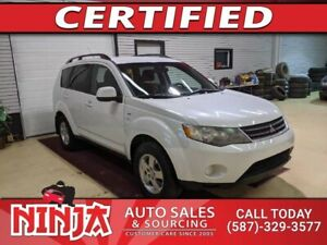 2008 Mitsubishi Outlander LS  AWD 6 Cyl 7 Pass Safetied
