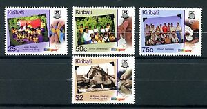 Kiribati 2007 MNH Centenary of Scouting 4v Set AIDS Scouts Flags Stamps