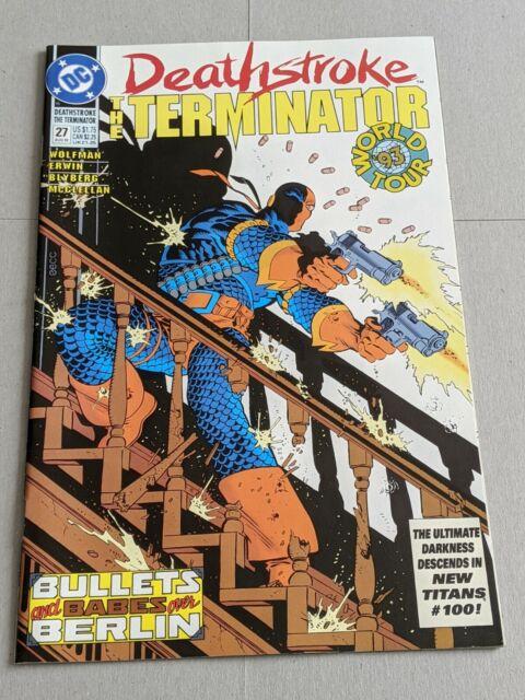 Deathstroke The Terminator #27 August 1993 DC Comics