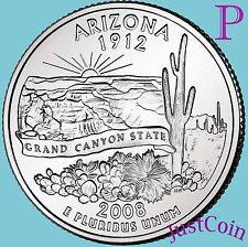 2008-P ARIZONA STATE (AZ) QUARTER UNCIRCULATED FROM U.S. MINT * STATE QUARTERS