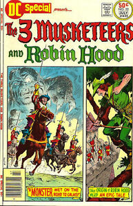 DC-SPECIAL-22-Very-Good-3-Musketeers-and-Robin-Hood-DC-Comics-1976
