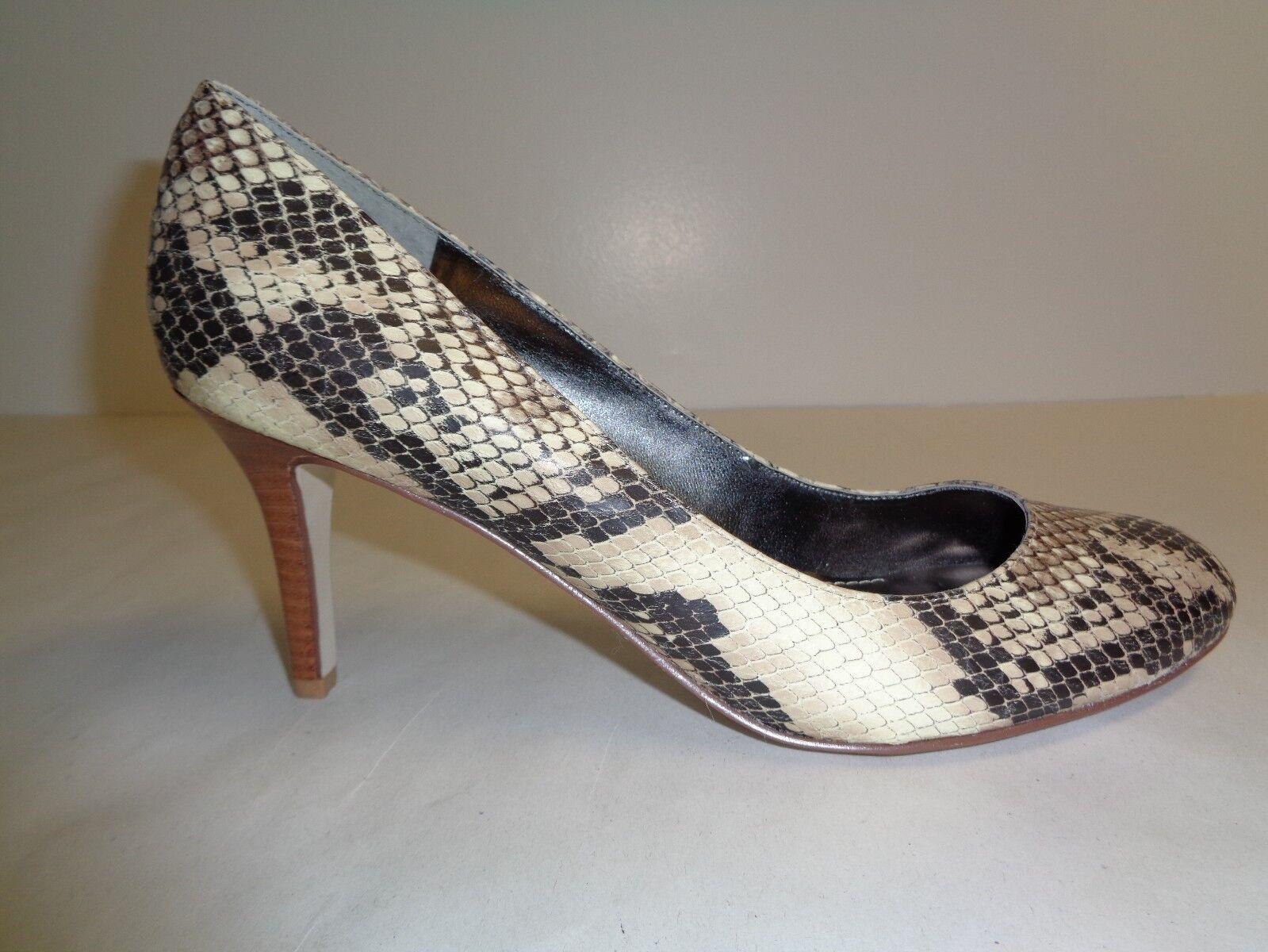 Marc Fisher Größe 8 M DAFNA DAFNA2 Natural Snake Pumps Heels NEU Damenschuhe Schuhes