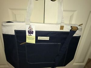 Details about Keep Cool Navy Tote Insulated Shopping Cooler Bag XL Reusable  CostCo Shopper NEW