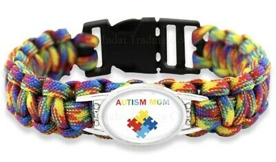 Milímetro Realizable Residencia  Pulseras de alerta médica autismo Conciencia De Silicona Muñequera Brazalete  para adultos UK control-ar.com.ar