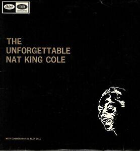 NAT-KING-COLE-The-Unforgettable-18-Tracks-Collectable-Vintage-Vinyl-12-034-LP-KA