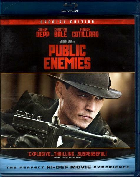 Public Enemies (Blu-Ray + DVD Spezial Edition / Johnny Depp 2001)