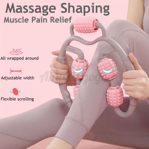 Foam Roller Massager Muscle Relaxer Stick Arm Leg Tissue Fitness Workout Yoga US