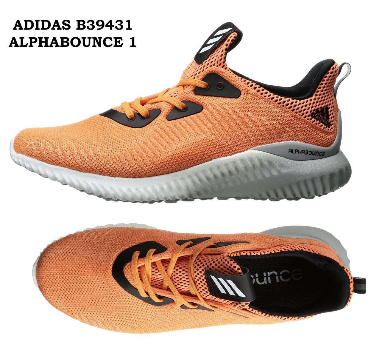 Womens ADIDAS ALPHABOUNCE  1 B39431 Womens Running shoes orange Sneakers NEW  big savings