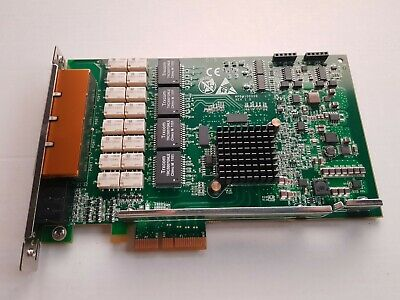 Ordelijk Quad Port Gbe Ge Gigabit Ethernet Bypass Riverbed 80-1003249-04