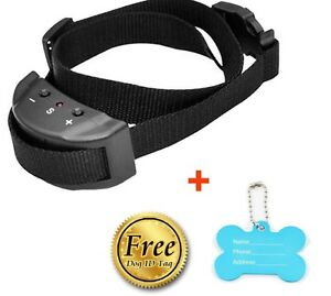 Dog Puppy Electronic NO Bark Dog Shock Collar, Fits All Sizes