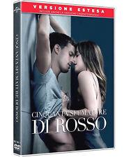 50 CINQUANTA SFUMATURE DI ROSSO (DVD) Jamie Dornan VERSIONE ESTESA
