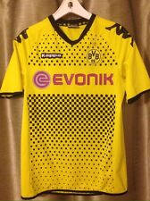 Borussia Dortmund Yellow Evonik 2011-2012 Kappa Soccer Jersey Kit Medium