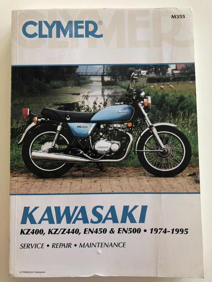 CLYMER REPERATIONSHÅNDBOG KAWASAKI