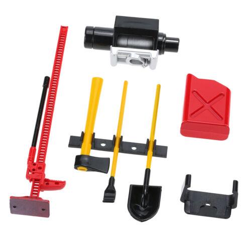1//10 RC Crawler Car Roof Rack Cool Decor Accessories Tools Set #1