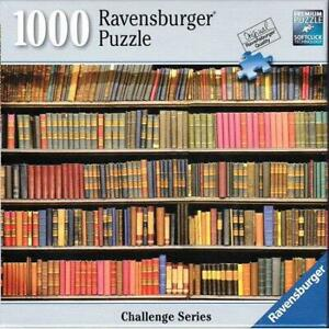 New-Ravensburger-Bookshelf-Challenge-1000-Piece-Jigsaw-Puzzle