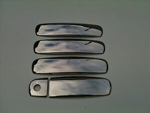 AUDI A4 ,B6-B7,STAINLESS STEEL DOOR HANDLE COVER'S,99-09 . | eBay