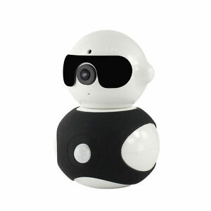 BLACK-960P-HD-IPCamera-ONVIF-Wireless-Pan-Rotation-Robot-PIR-MotionDetection